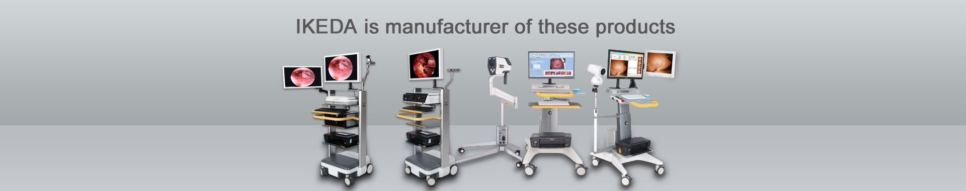Endoscope Camera, Colposcope, Trolley, Accessory