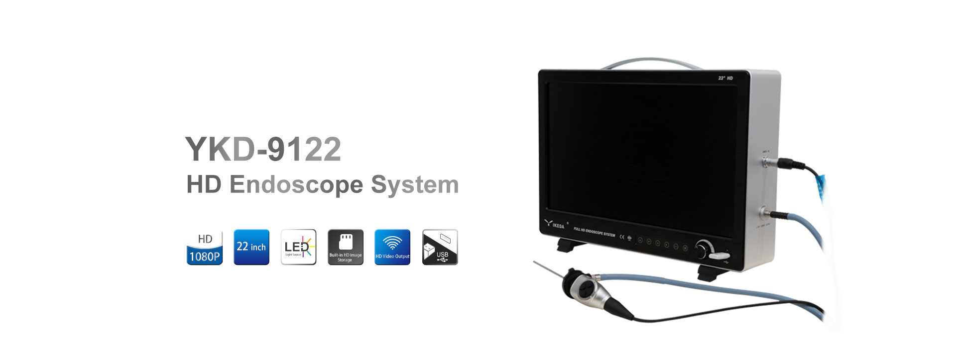 HD endoscope camera