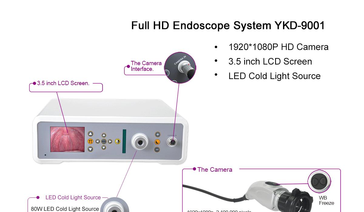 YKD-9001 Endoscope Camera