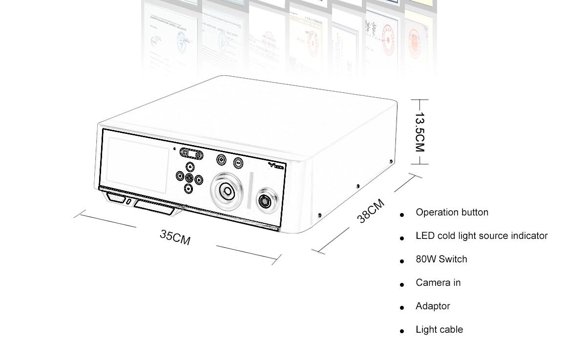 YKD-9006 Endoscope Camera