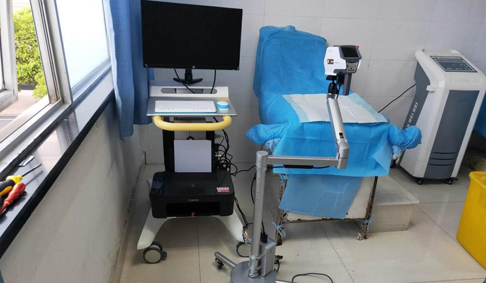 Electronic colposcope