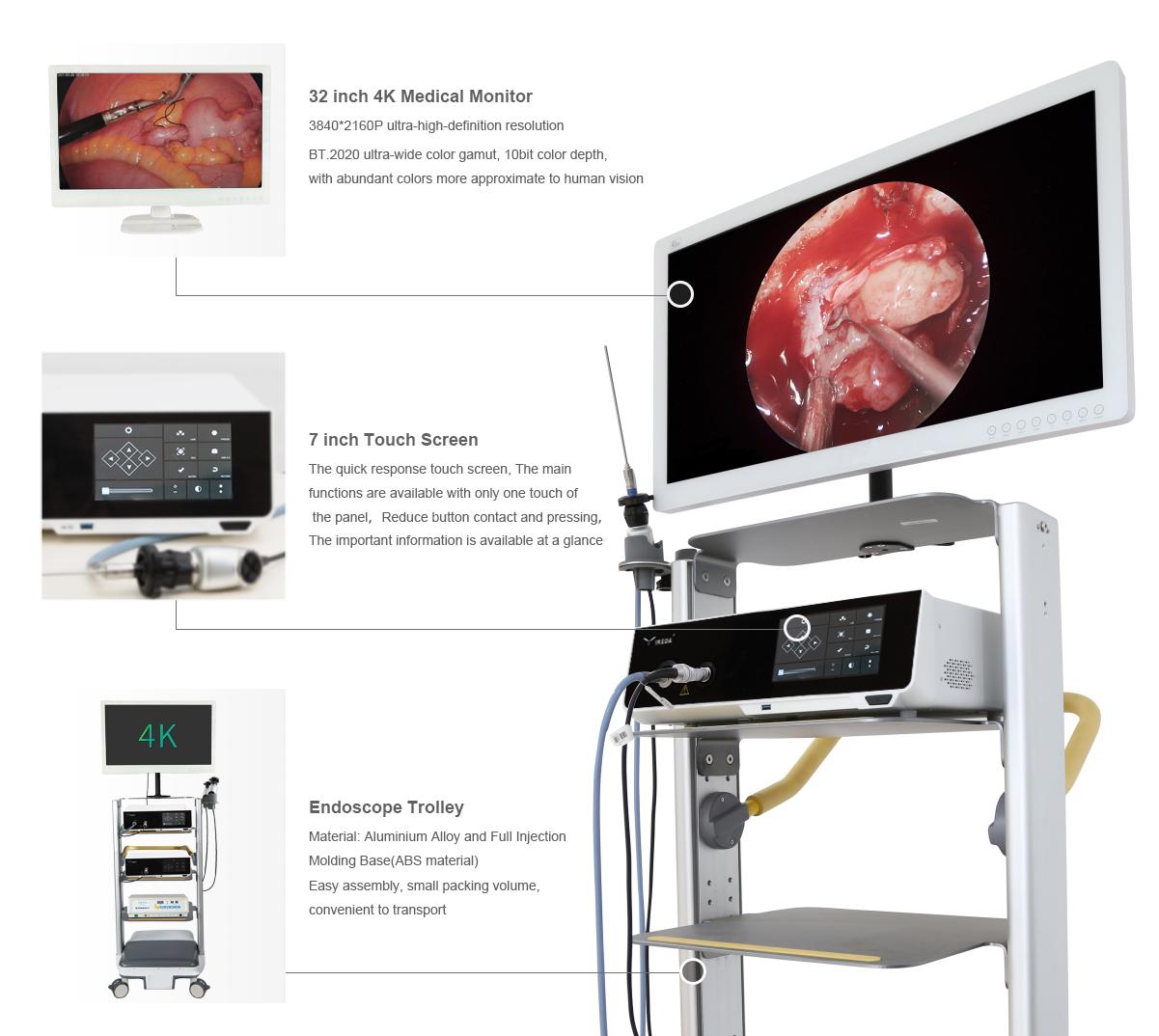 4K Endoscope Camera System