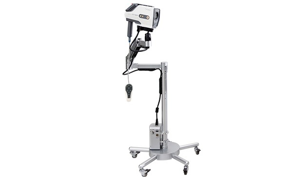 How does the digital video colposcope system work?